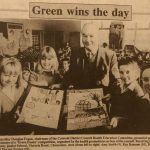"""Winner of the """"Green poster"""" as a child"""